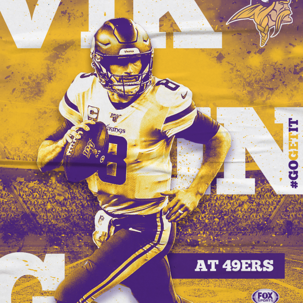 Fox Sports North Vikings vs 49ers